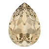 Swarovski 4320 Pear Fancy Stone 14x10mm Light Silk (144 Pieces)
